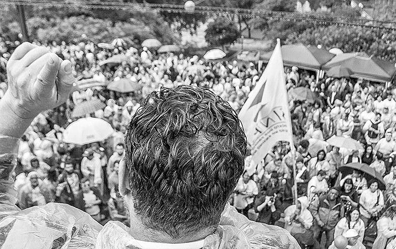 Ato de greve dos servidores paulistanos